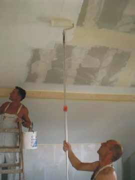 Www bauweise net informiert ber den bau unseres passivhauses - Ubergang wand decke acryl ...